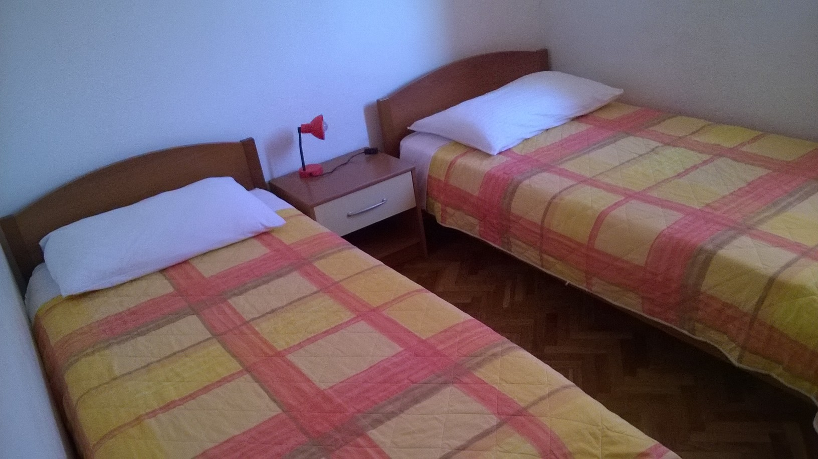 apartment bedroom punta skala petrcane zadar holiday rent