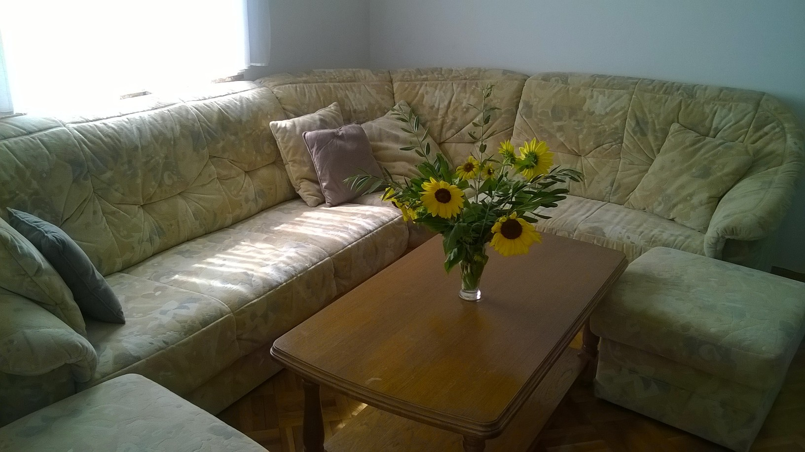 apartment couch punta skala petrcane zadar holiday rent