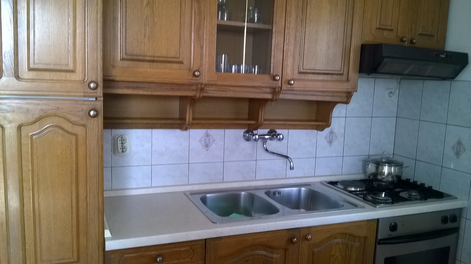 apartment kitchen punta skala petrcane zadar holiday rent