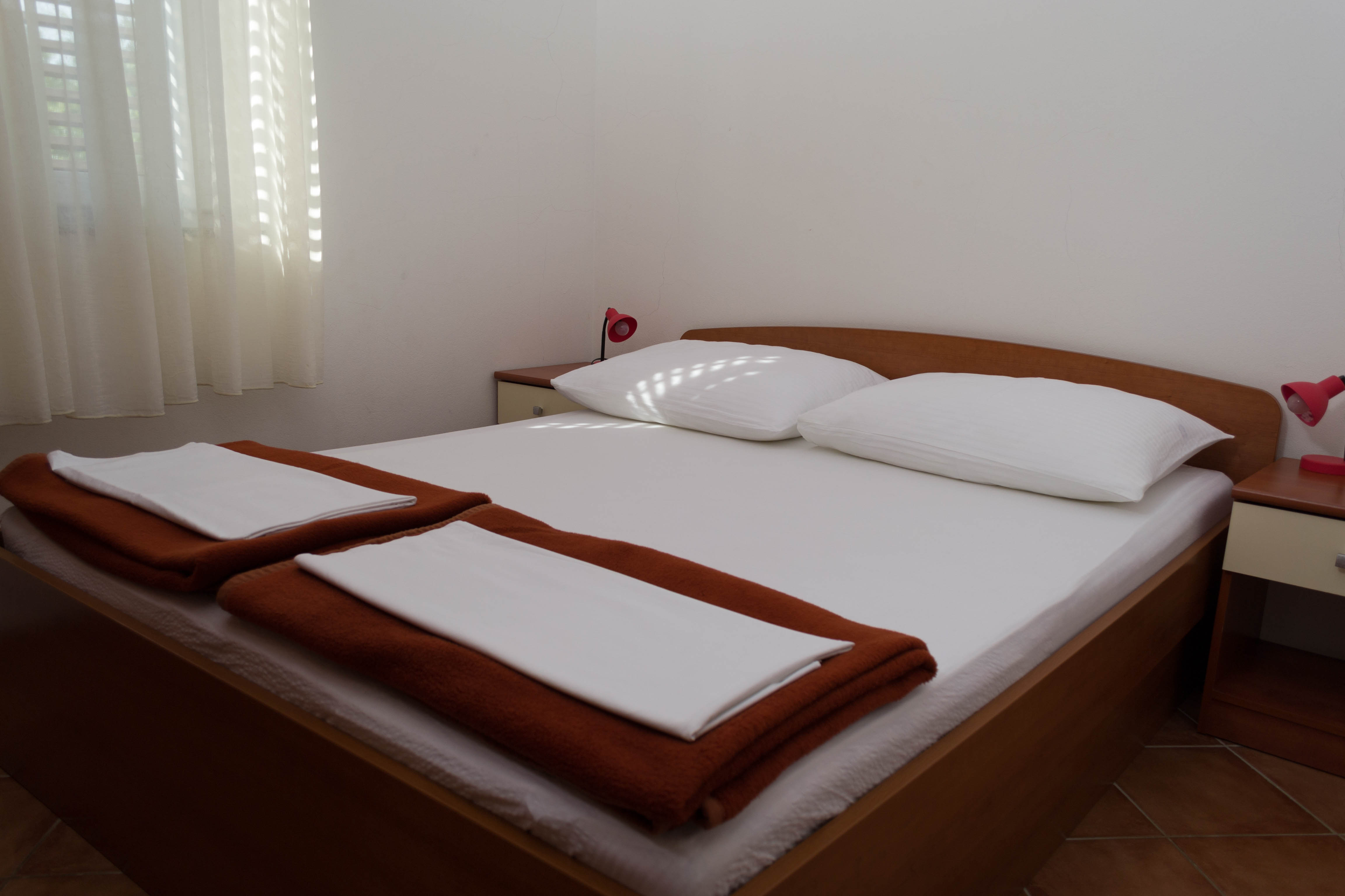 apartment bedroom punta skala petrcane zadar holiday rent
