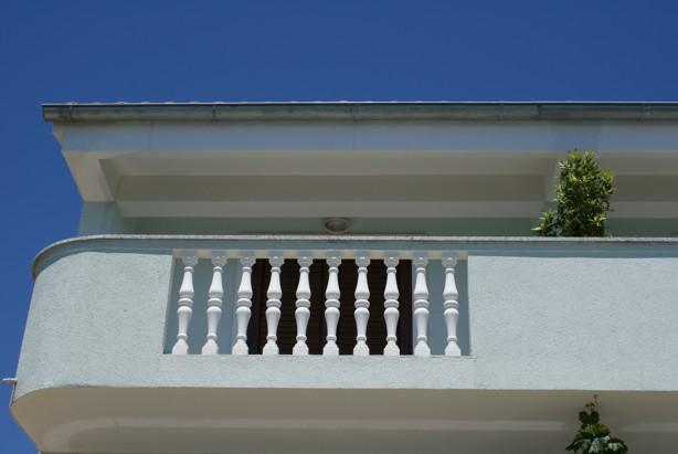 apartment balcony punta skala petrcane zadar holiday rent