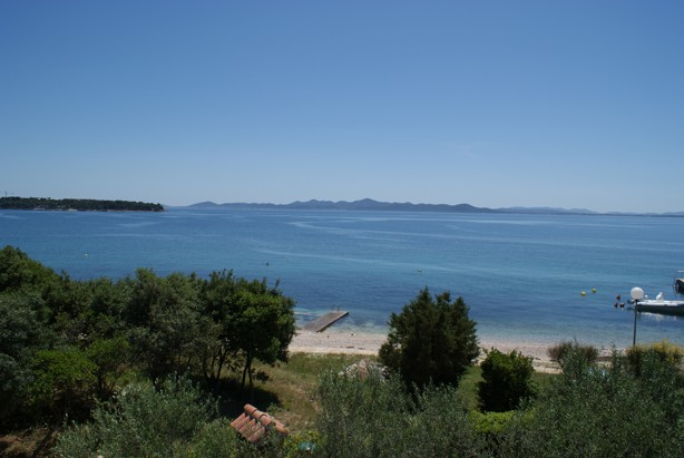 apartment sea view punta skala petrcane zadar holiday rent