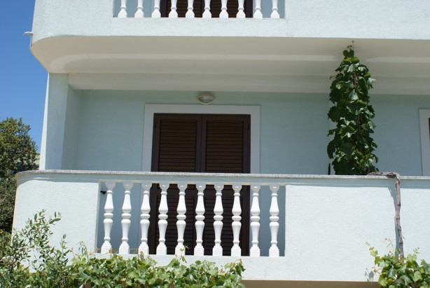 apartment balcony punta skala petrcane zadar holiday rent